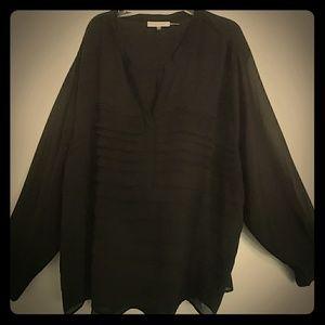 Calvin Klein Black blouse 3X